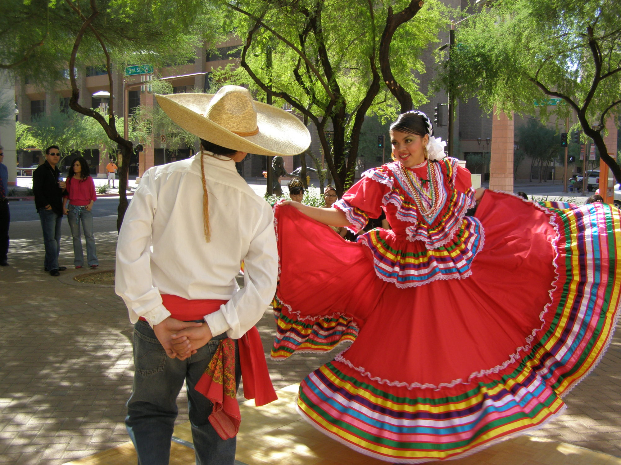 Fiestas Patrias at Traders Village on September 17, 2017