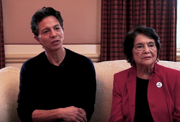 Video Pick: Benjamin Bratt and Dolores Huerta