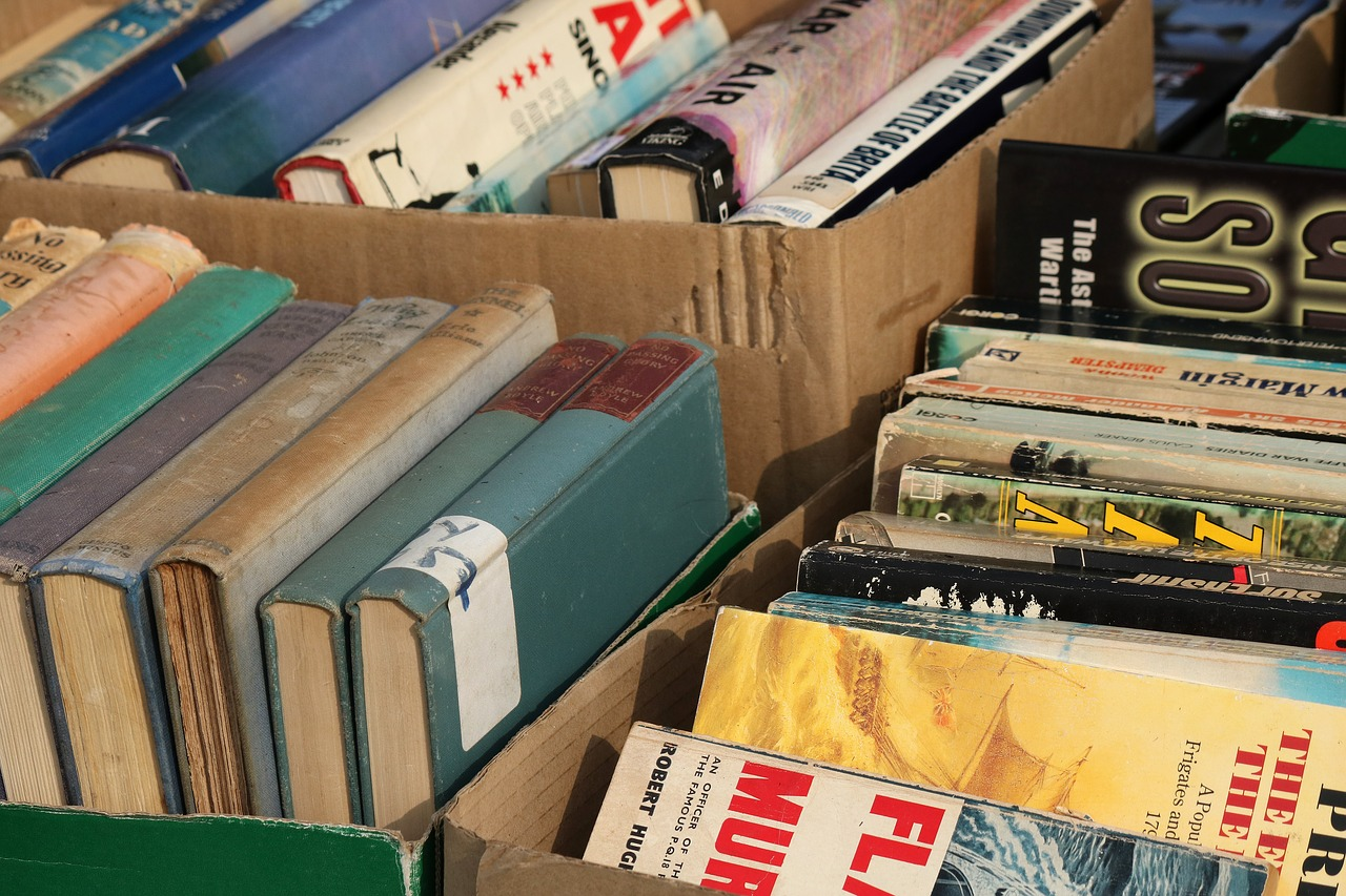 Houston Library Foundation Fall Book Sale on Saturday, September 15, 2018