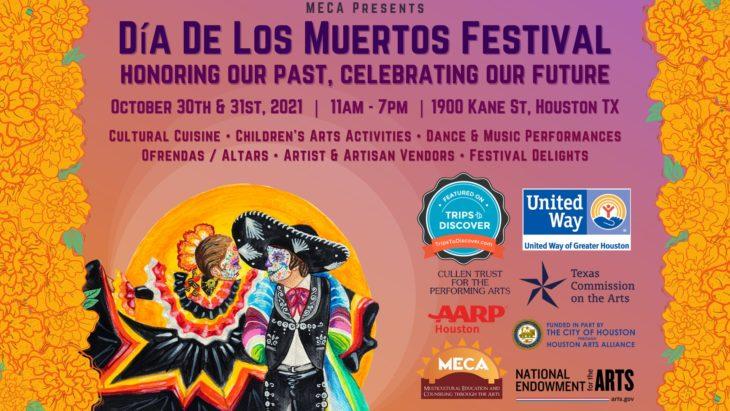 Promo image for 2021 MECA Día De Los Muertos Festival