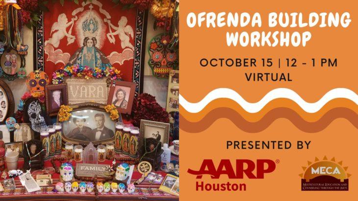 Promo image for ofrenda workshop